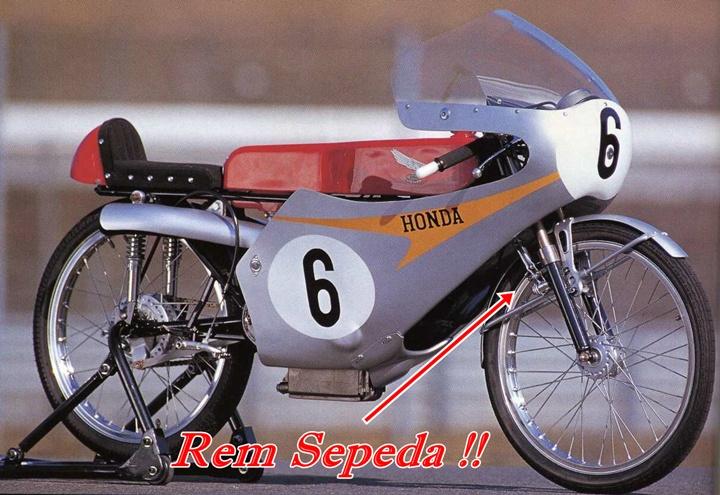RC166 MotoGP Rem Sepeda 2
