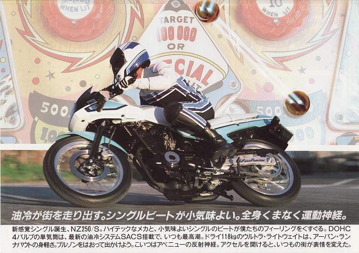Suzuki NZ250 5