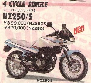 Suzuki NZ250 8