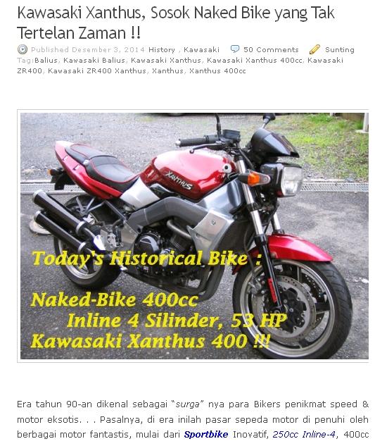 Artikel History Kawasaki