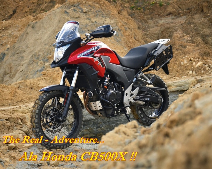 CB500X Modif Adventure Main