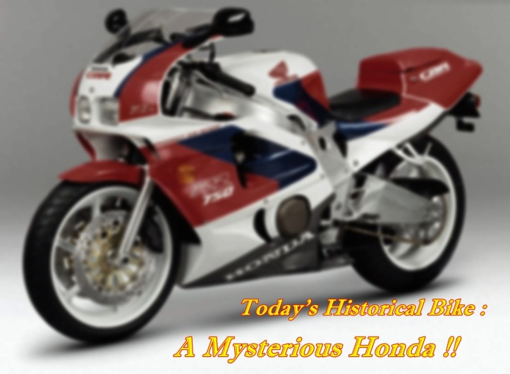 Honda CBR 750RR Prototype