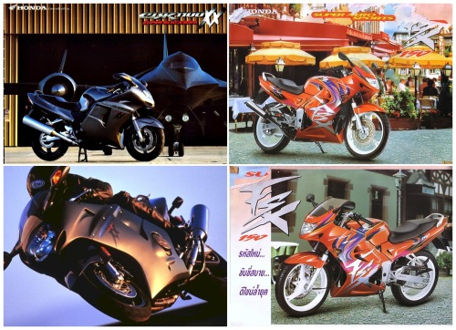Honda FSX 150 - CBR1100XX Blackbird