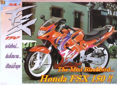 Honda FSX 150 Main