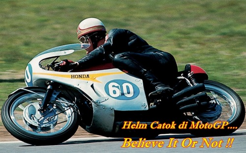 Mike Hailwood Pudding Basin Helmet