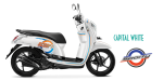 New Honda Scoopy eSP 2015 Capital White