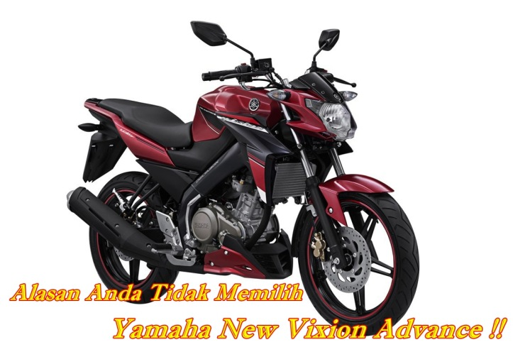 New Vixion Advance Stizza Black Red