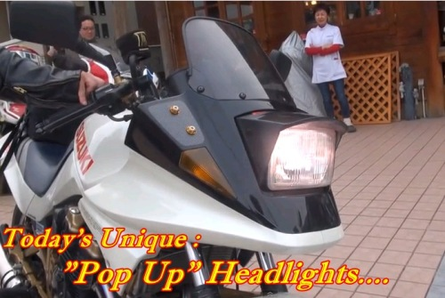 Pop Up Headlights Motorcycle