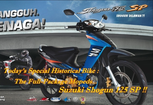 Modifikasi Motor F1zr Warna Biru