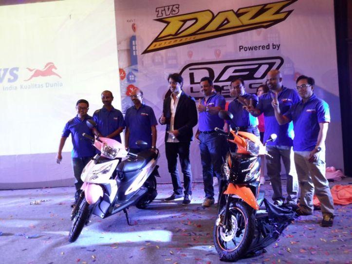 TVS Dazz DFI 4