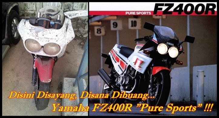 Yamaha FZ400R Rongsokan Main