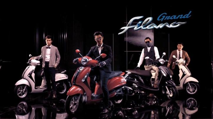 Yamaha Grand Filano 125 6