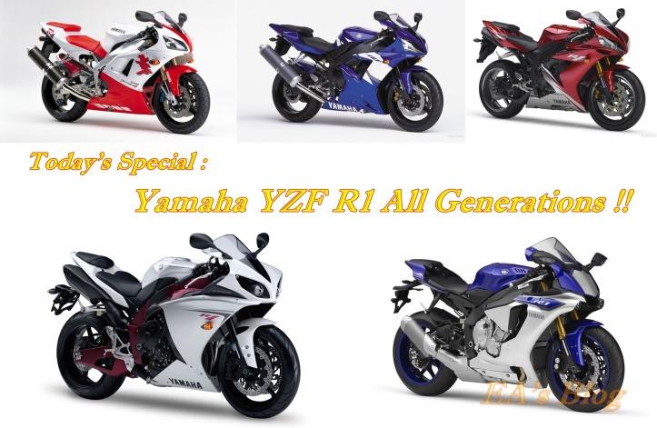 Yamaha YZF R1 Generations