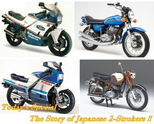 Japanese 2-Strokers