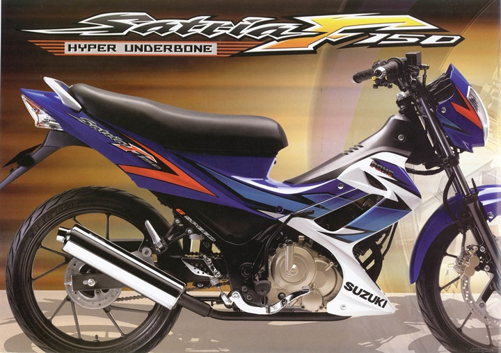 Satria F150 CBU Thailand