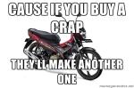 Suzuki Satria F115 Crap