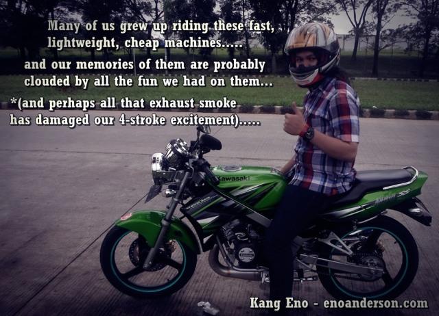 Sang Legenda Pensiun Kawasaki Ninja 150 2 Tak Stop Produksi