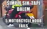 Motorcycle Noob Fails