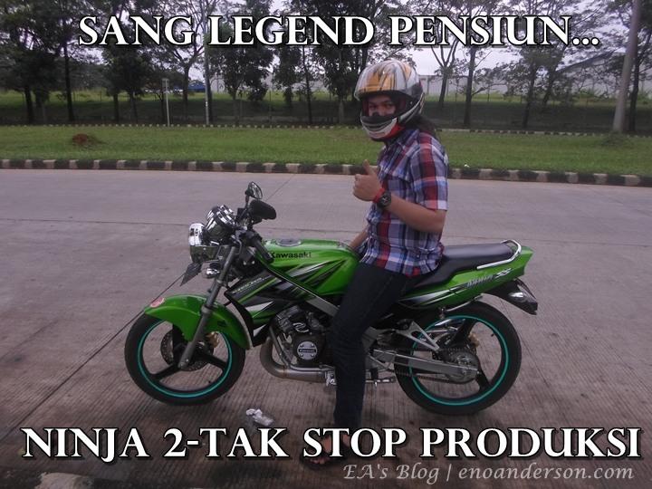 Ninja 150 2-Tak Discontinue