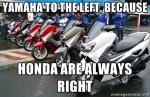 Yamaha Selalu Salah