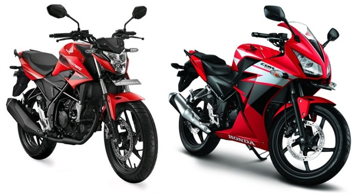 CB150R Facelift vs CBR150R K45