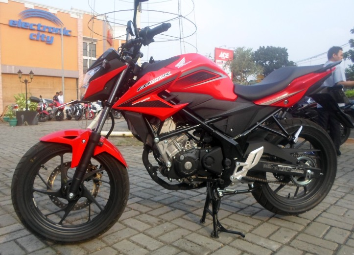 New Honda CB150R Facelift
