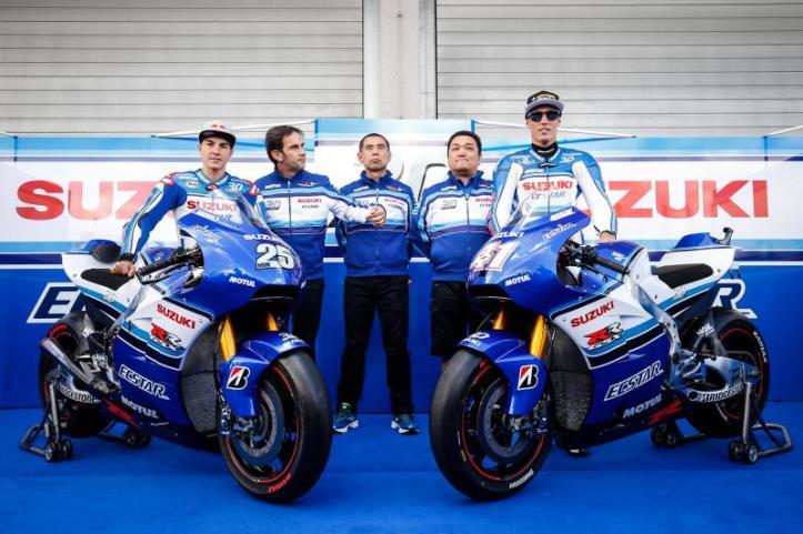 Suzuki Ecstar MotoGP 2015