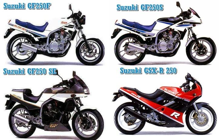 Suzuki GF250 Generations