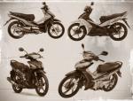 Honda Revo AT vs Yamaha Lexam