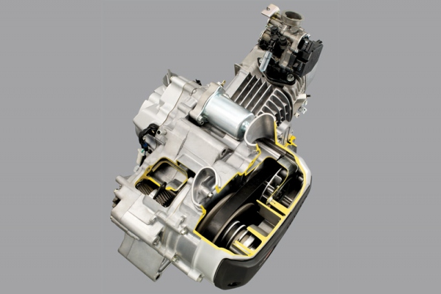 Honda Revo Techno AT CV Matic