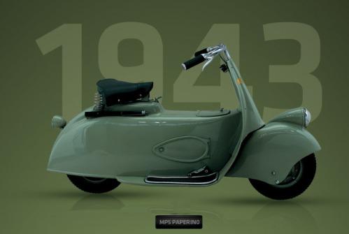 Sejarah Vespa - Piaggio MP5