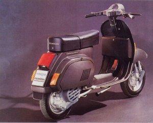 Sejarah Vespa - Vespa PK125 Automatic