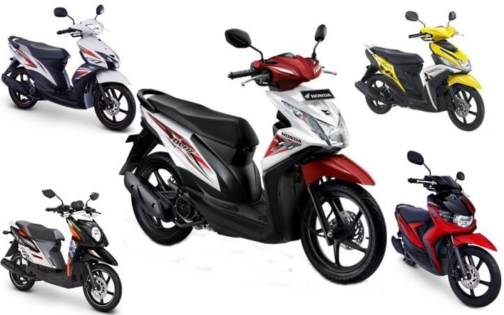 Skutik Yamaha vs Honda