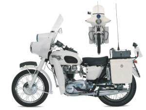 Triumph Bonneville Police