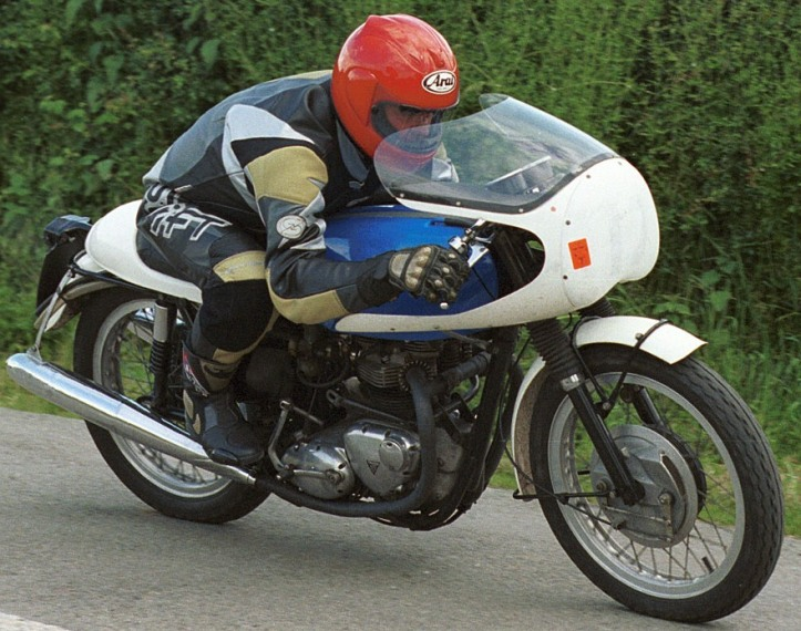 Triumph Bonneville Production TT