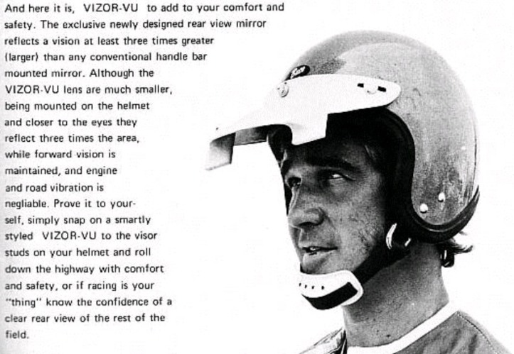 Helm Unik - Visor-Vu Helmet