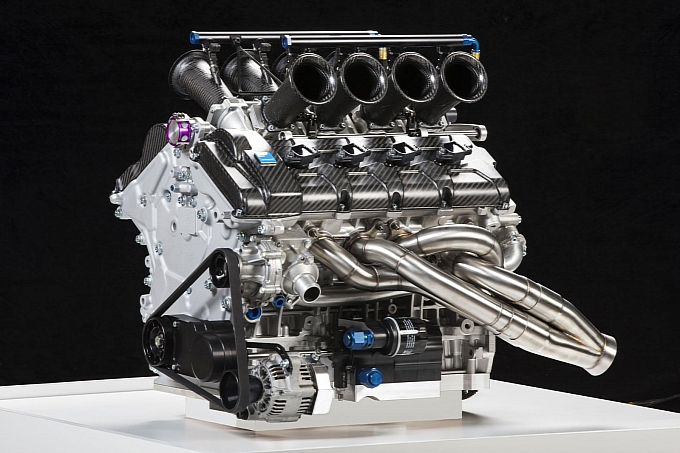 Yamaha V8 Engine with Polestar - Volvo 3
