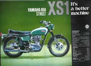 Yamaha XS-1