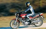 Yamaha XZ550 Ride