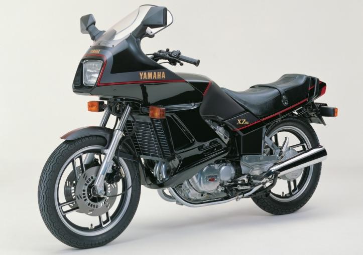 Yamaha XZ550D Half-Fairing