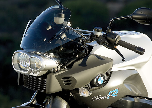 BMW K1200R Asymmetric Headlight