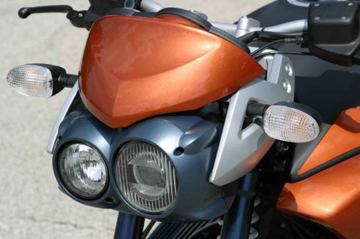 BMW R1150R Asymmetric Headlight
