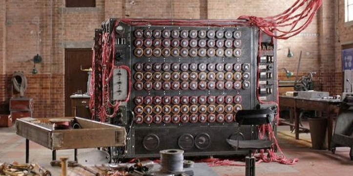 Bombe Computer by Alan Turing