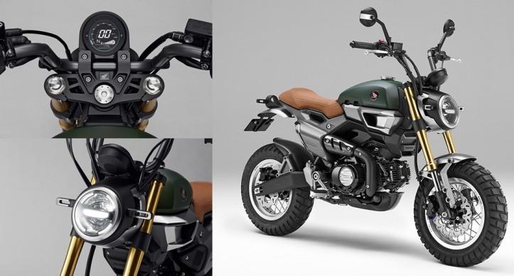 Honda Grom 50 Scrambler Concept