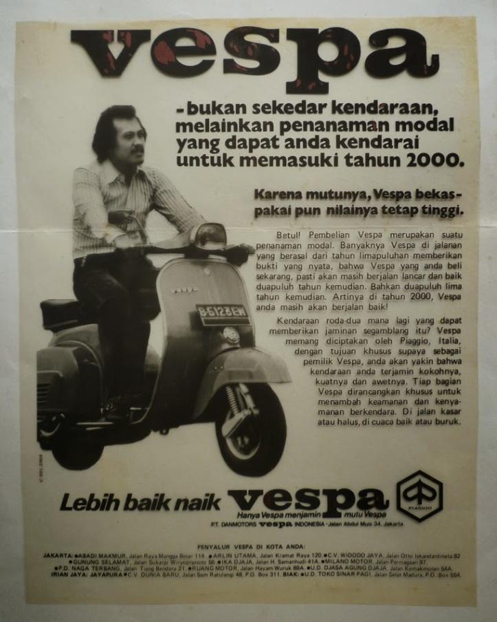 Sejarah Vespa Indonesia