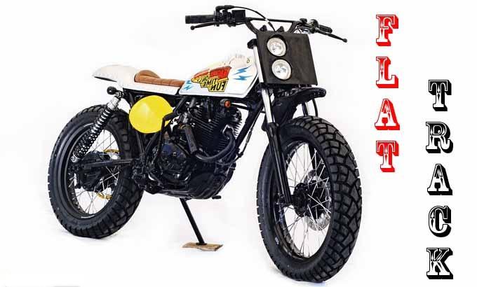 Honda CB100 Flat-Track