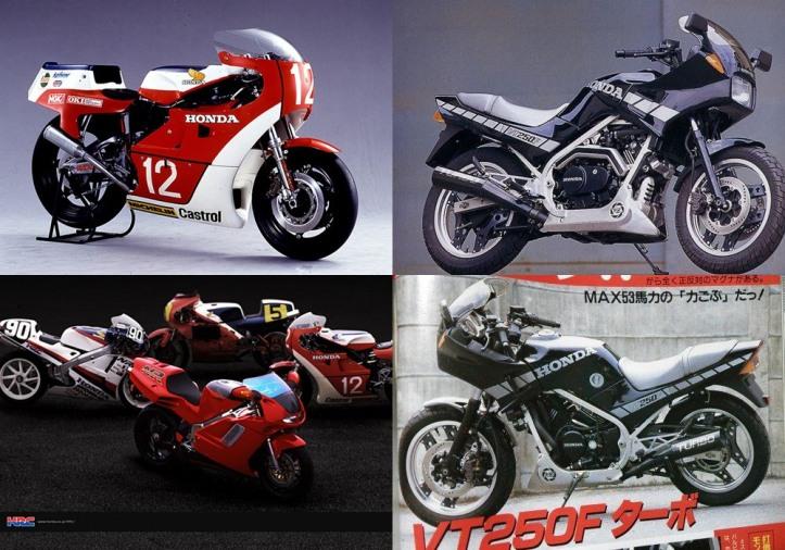 Honda NR250 Turbo & VT250FTC