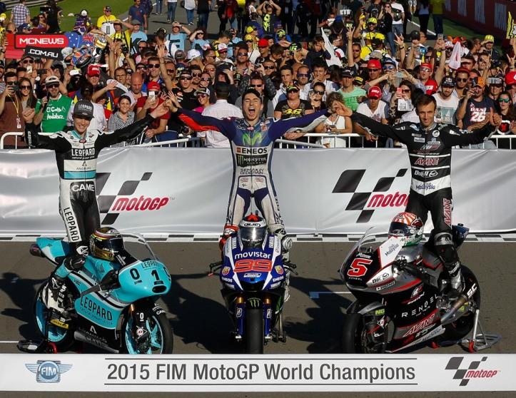 Jorge Lorenzo Champions MotoGP 2015