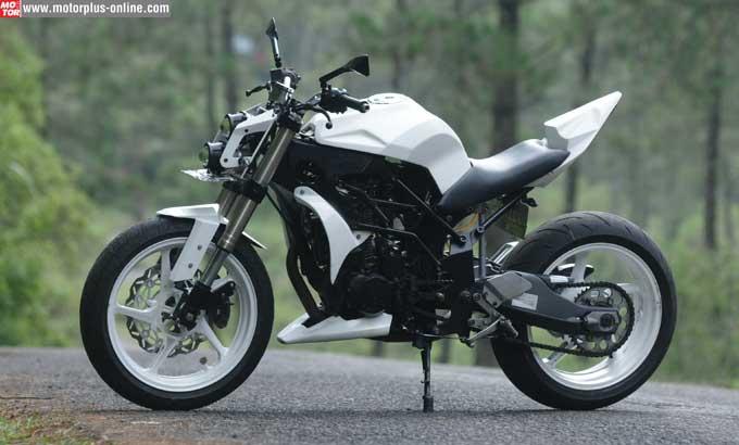 Yamaha M-Slaz Minor Fighter