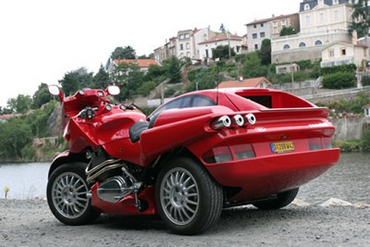 Snaefell Laverda Sidecar